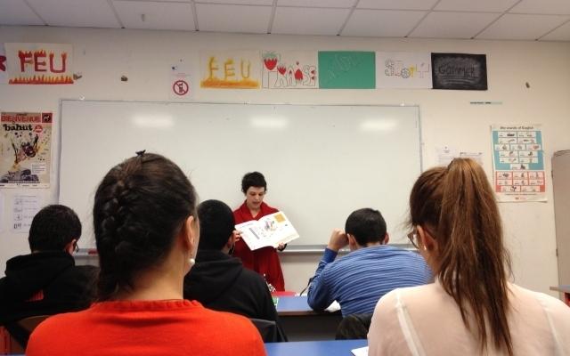 En classe avec Marion Tanyères, médiatrice Zebrock