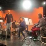 Rencontre avec Franck Vaillant au Pôle Musical d'Orgemont et les musiciens du projet musical Benzine (Magic Malik, D' de Kabal, Mia Barouh, Yacir Rami,…)