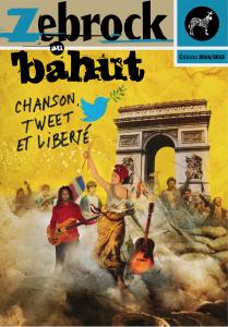 """Livret Zebrock au bahut """"Chanson, tweet et liberté"""""""