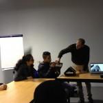 Visite de l'atelier de fabrication du dualo et découverte des prototypes