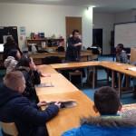 12.2014: Hippocampe fou avec la classe d'accueil du collège Jean de Beaumont de Villemomble