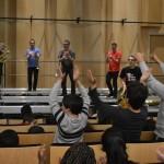 6.03.2015: Concert NoWaterPlease à l'Auditorium de Bondy (CAC Nicolas Haas au collège Henri Sellier)