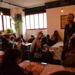 26.03.2015: Nevche rencontre des collégiens participant à Zebrock au bahut à la Menuiserie de Pantin