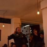 26.03.2015: Nevche rencontre des collégiens participant à Zebrock au bahut à la Menuiserie de Pantin (photo prise par les élèves)