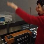 Découverte du theremin lors d'une visite au Musée de la Musique