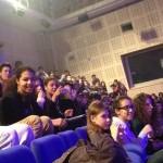 09.03.2015: Collégiens et lycéens au Studio 105 de Radio France