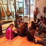 Visite de la Cité de la musique pour la classe de 6è du collège Painlevé de Sevran (atelier avec Caroline DAPARO)