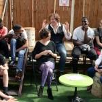 ©Willy Vainqueur -  partage d'expérience avec La Bestiole pour les 25 ans d'actions éducatives de Zebrock au Cabaret sauvage
