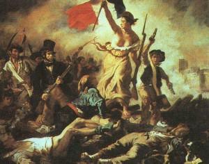 Delacroix, La Liberté guidant le peuple (1830)