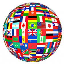 planisphère drapeau